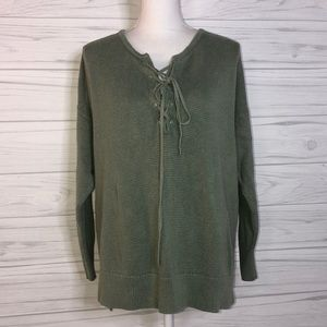 Loft outlet xl Sage sweater